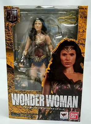Brand New Bandai Tamashii Nations S.H Figuarts Justice League Wonder Woman USA