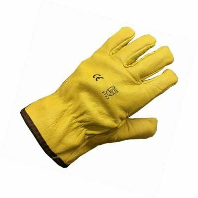 Himalayan Lined Leather Drivers Gloves Builders, Farmers, HGV, Gardening Work