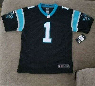 NFL Licensed Jersey Carolina Panthers Cam Newton  1 Youth L Large   BRAND  NEW   6000df54c