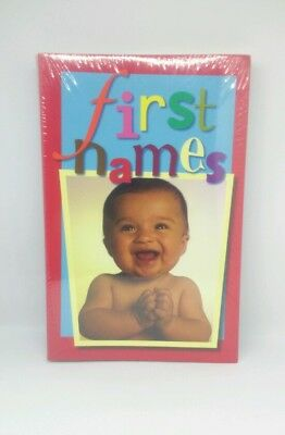 FIRST NAMES -Baby names book - new in wrapper