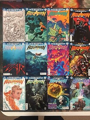 Aquaman Comic Lot