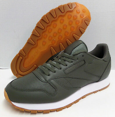 REEBOK CLASSIC LEATHER PG Olive Green White TRAINER SHOE US 10.5   EUR 44  BD4648 68125fcd9