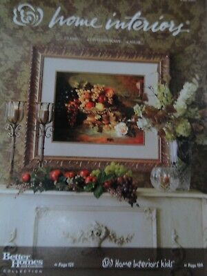 Home Interiors & Gifts Catalog Brochure 2007- #99771- 180 Pages EXTRA THICK NEW