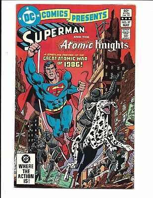 DC COMICS PRESENTS # 57 (Superman and the Atomic Knights, MAY 1983), FN+