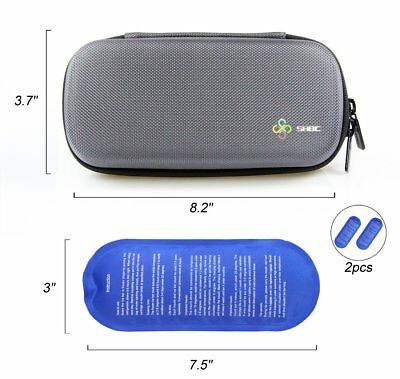 SHBC Insulin Cooler Travel Case For Diabetic Organize Medication Insulated