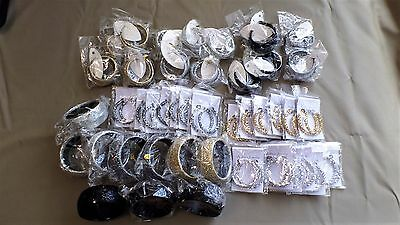 BULK LOT OF 44 PIECES OF ASSORTED JEWELLERY - All New