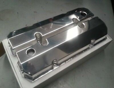 Holden V8 EFI 304 5 Litre Sheet Alloy Fabricated Valve Rocker Covers VN