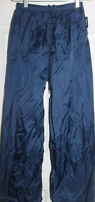 New no Tags Navy 'TEAM V-LITE'  waterproof PANTS size 14