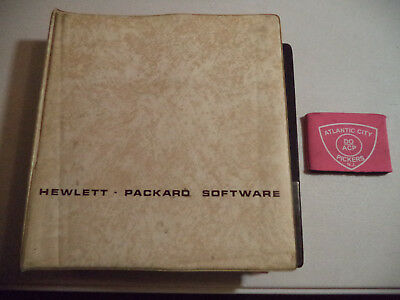 Hewlett Packard Software General Utility Routines Manual W/ Cass. (09825-10001)