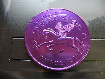 pegasus Mardi Gras Doubloon flying horse rare new orleans