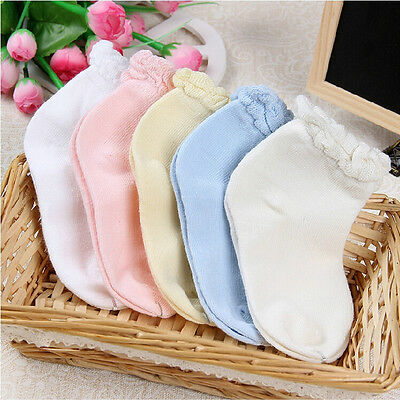 Summer Autumn Women Girls baby Solid Colors Cotton born Soft Socks Gift.