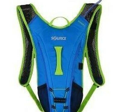 Source Spinner 2L Hydration Back Pack – Blue/Green RRP $69.95