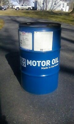 15 Gallon Steel Drum Germany Synthetic Motor Oil Empty