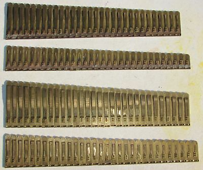 122 Brass Reeds Seybold Pump Organ Antique Used Parts Crafts Upcylce Repurpose
