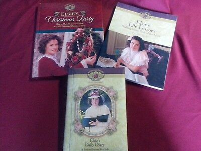 Elsie Dinsmore A Life of Faith 3 books- Christmas Party, Diary, Life Study Guide