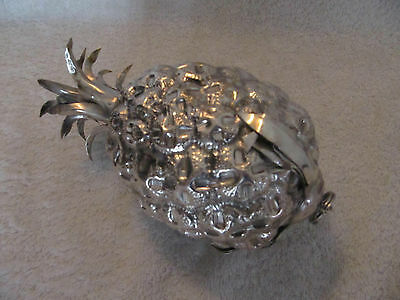 curious italian silver (800) pineapple (to be suspended) 235gr
