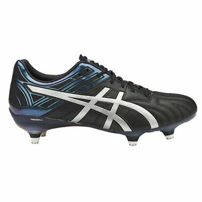Asics Gel-Lethal Tigreor 10 ST Rugby Boots - Black/Silver