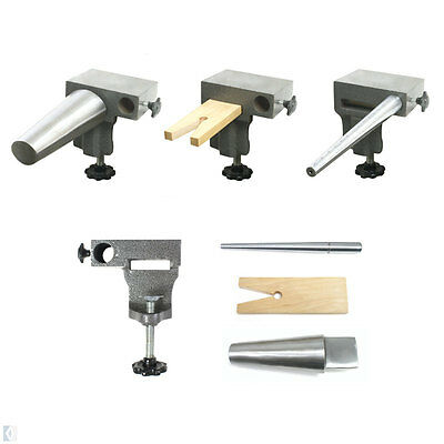Combination Bench Pin & Anvil, Round Bangle, Ring Mandrel Set Jewellery Tool