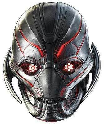 Ultron età di vendicatori Marvel UFFICIALE SINGOLO CARD Party Face Mask