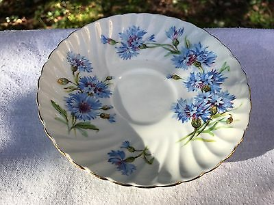 Adorable Adderley Cornflower Bone China Replacement Saucer (ii)