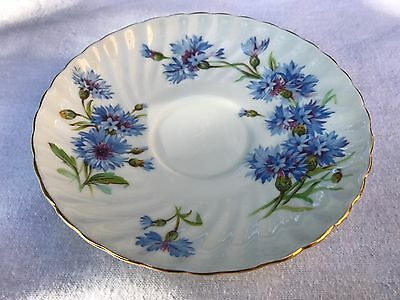 Adorable Adderley Cornflower Bone China Replacement Saucer (i)
