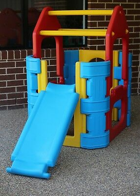 Outdoor Play Gym with Water Spray Bar - Good Condition