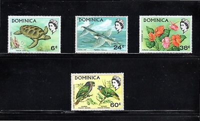 Dominica 1970 Flora and Fauna SG 303/6 MUH