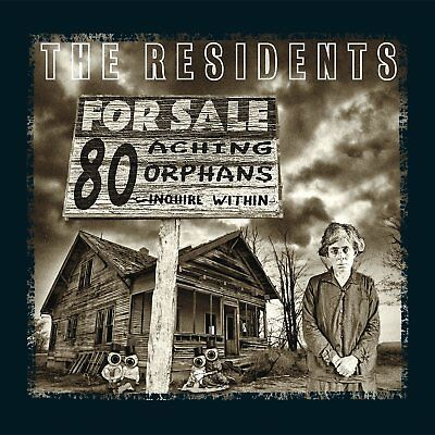 RESIDENTS 80 Aching Orphans ~ 45 Years Of The Residents BOX 4 CD Nuovo
