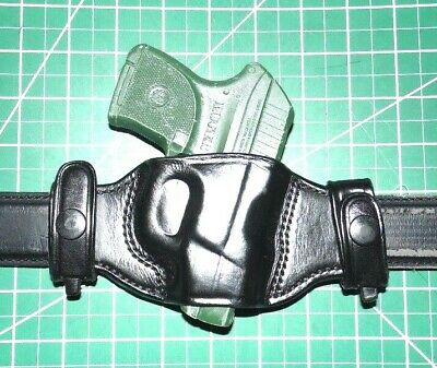 LEATHER CONCEALMENT HOLSTER - RUGER LCP with or without