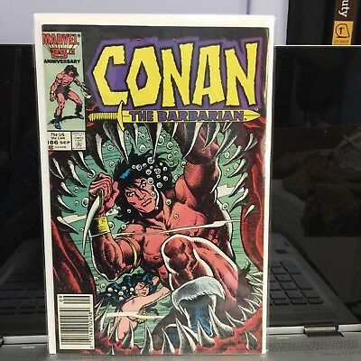 Conan the Barbarian (1970 Marvel) comic books # 186