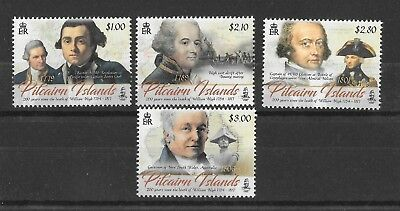 Pitcairn Islands 2017 NEW ISSUE 200th Anniv of The Death of William Bligh  MNH