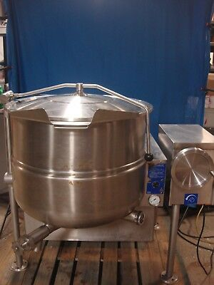 Cleveland Kgl-40T 40 Gallon Tilting Natural Gas Jacketed Steam Kettle 3281