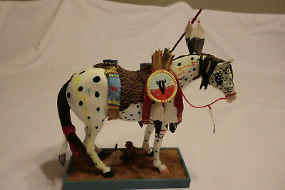Trail of Painted Ponies War Pony #1452 Retired 2003 Westland