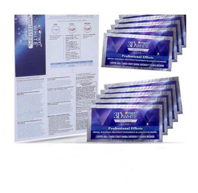 Luxe-Professional-Whitening-Strips-10 day supply - 10 pouches