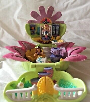 Vintage Polly Pocket Totally Flowers Daisy Dressmaker 100% Complete Excellent