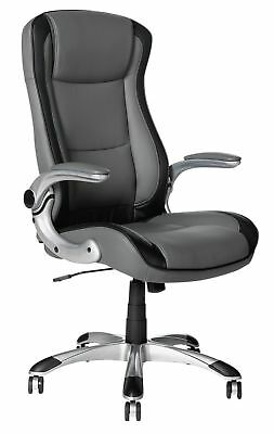 Used Dexter Height Adjustable Office Chair Grey Swivel Chair -X0026
