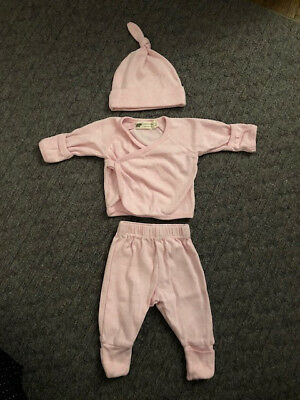 Monica + Andy Baby Girls 3 Piece Pink Outfit New Born