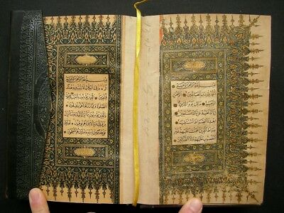 Ottoman Turkish Arabic Islamic Old Printed Koran Kareem A.h 1325 A.d 1907