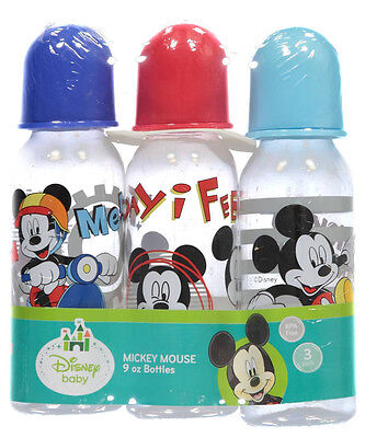 "Mickey Mouse ""Follow Me!"" 3-Pack Bottles (9 oz.)"