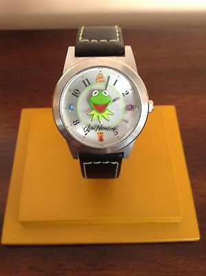 Fossil Watch 2002 Men's Kermit The Muppet Show Limited Edition Collector HTF