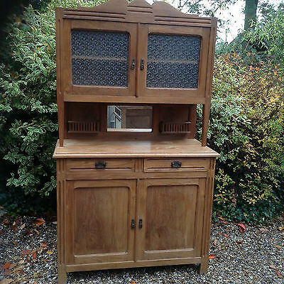 French Vintage Buffet Dresser in Teak
