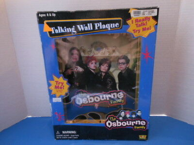 The Osbourne Family Talking Wall Plaque