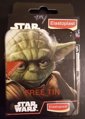 Elastoplast Star Wars 16 Plasters With Limited Edition Tin, Exp 04/2021