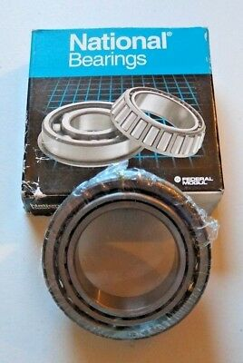 Lot of Ten (10) National Bearings A-35 Wheel Bearings Front & Rear Inner