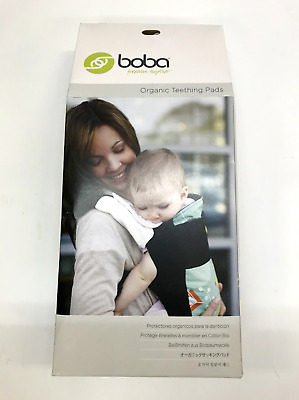 bd3c4342c96 Boba Organic Teething Pads for Baby Carrier. 100% Organic Cotton. Natural  color