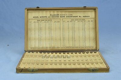 Antique ADVERTISING SWARTCHILDS WATCH SHIPPING DISPLAY BOX w GLASS BOTTLES 04567