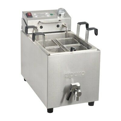 Apuro GH160-A Commercial Pasta Noodle Cooker 4 Basket 8Lt with Timer Restaurant
