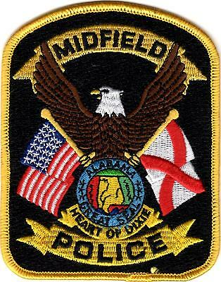 Midfield Police patch Alabama AL NEW