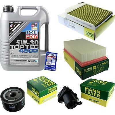 Packet Inspection 5 L Liqui Moly TOP TEC 4600 5W-30 + Man Filter Package 9878012