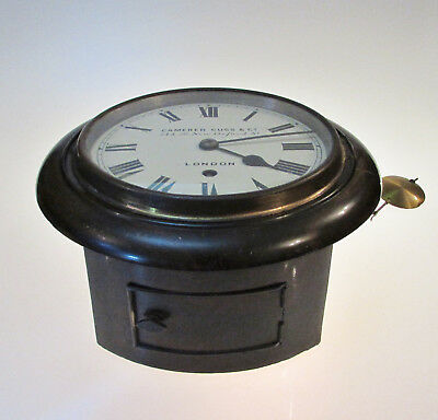 Good 8 Day Edwardian Wall Clock by Camerer Cuss & Co London